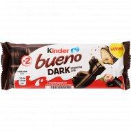 Вафли «Kinder Bueno Dark» с молочно-ореховой начинкой, 43 г.