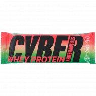 Батончик протеиновый «Cyber bite» whey protein, клубника, 30 г