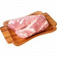 Шейная часть «Индифуд» свиная, охлажденная, 1 кг, фасовка 0.9-1.4 кг