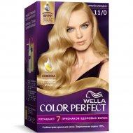 Крем-краска для волос «Wella Color Perfect» яркий блондин, 11/0.
