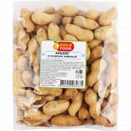 Арахис жареный «Gold Food» в скорлупе, 200 г.