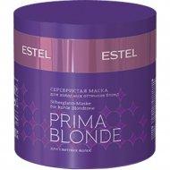 Маска для волос «Estel» Prima Blonde, серебристая, 300 мл