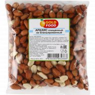 Арахис «Gold Food» очищенный, не баланшированный, 200 г.