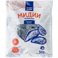 Мидии чилийские «Море от John Dory» варено-мороженые, 500 г