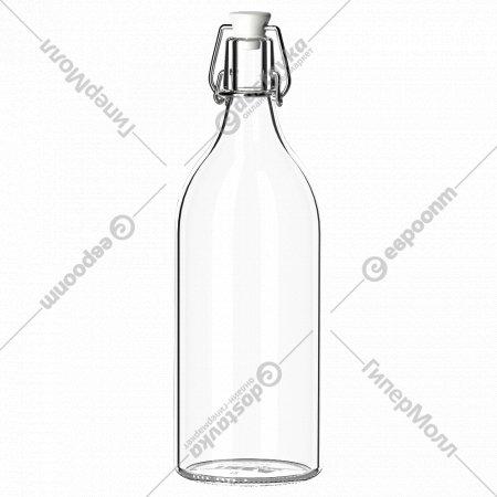 Бутылка с пробкой «Коркен»1 л.