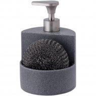 Дозатор для мыла с губкой «Home&You» 24758-SZA-DOZ