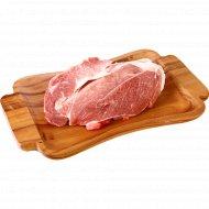 Свинина для запекания, охлажденная, 1 кг., фасовка 0.7-1.3 кг
