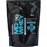 Протеин «MD Whey 70» земляника со сливками, 300 г.