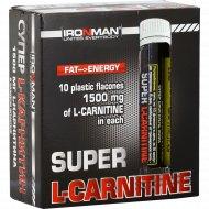 Карнитин «Super L-Carnitine 1500» 10 флаконов х 25 мл.