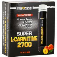 Напиток «Супер L-карнитин 2700» персик, 10х25 мл.