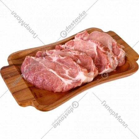 Полуфабрикат из свинины для тушения, 1 кг., фасовка 0.9-1.2 кг