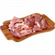 Котлетное мясо свиное, охлажденное, 1 кг., фасовка 1.4-1.7 кг