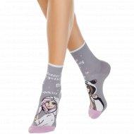 Носки женские хлопковые «Ce Happy» серые, размер 23-25.