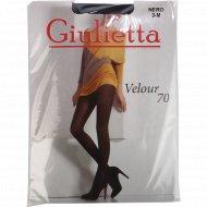 Колготки женские «Giulietta» Velour 70, nero.