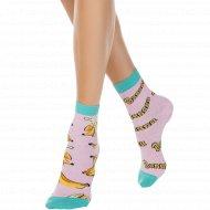 Носки женские хлопковые «Ce Happy» светло-розовые, размер 23-25.
