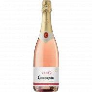 Вино безалкогольное игристое «CODORNIU» Zero Rose, 750 мл.