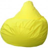 Бескаркасное кресло «Flagman» Груша Макси Г2.7-10, жёлтый