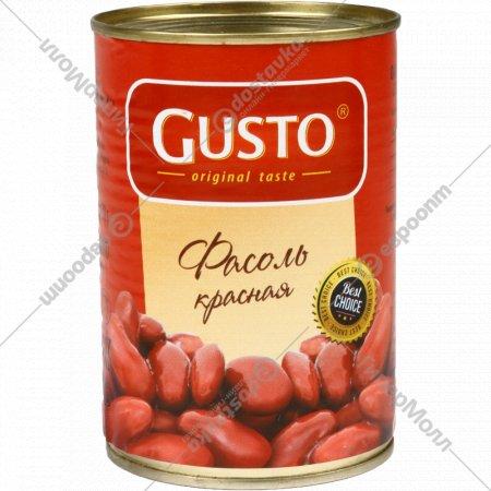 Фасоль красная «Gusto» 420 г.