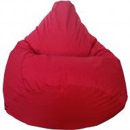 Бескаркасное кресло «Flagman» Груша Макси Г2.7-13, красный