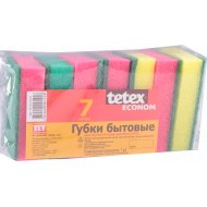 Губки бытовые «Tetex Econom» 7 шт.