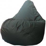 Бескаркасное кресло «Flagman» Груша Макси Г2.7-14, тёмно-зелёный