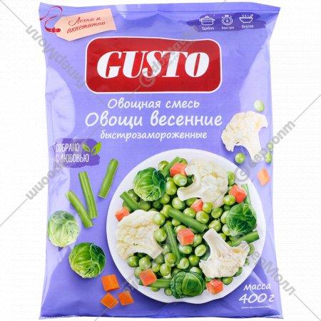 Овощи весенние «Gusto» замороженные, 400 г.