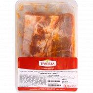 Полуфабрикат из свинины «Грудинка для гриля» 1кг., фасовка 0.8-1.2 кг