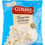 Цветная капуста «Gusto» замороженная, 400 г.