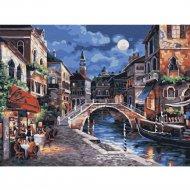 Живопись по номерам «Ночь в Венеции» 30 х 40 см.