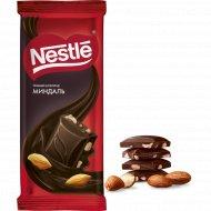 Шоколад темный «Nestle» с миндалем, 82 г