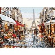 Живопись по номерам «Париж после дождя» 30 х 40 см.
