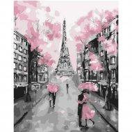 Живопись по номерам «Париж» 30 х 40 см.