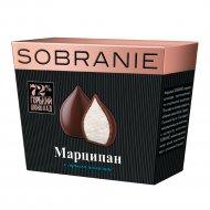 Конфеты «Sobranie» марципан в горьком шоколаде, 150 г.