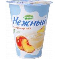 Продукт йогуртный «Нежный» с соком персика 1.2 %, 320 г.