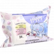 Детские влажные салфетки «Bella Baby Happy» 24 шт.