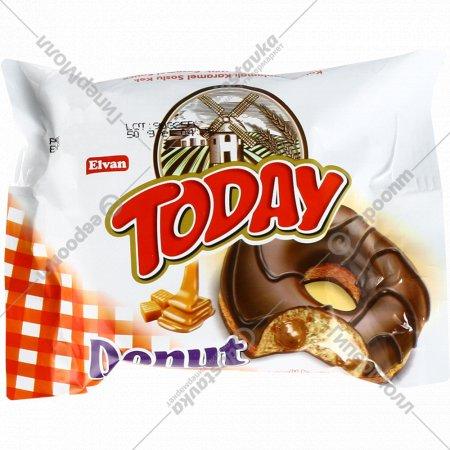 Пирожное бисквитное «Today Donut» карамель, 50 г.