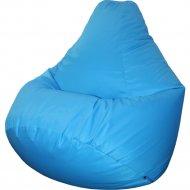 Бескаркасное кресло «Flagman» Груша Макси Г2.7-29, голубой