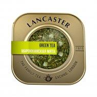 Чай зеленый «Lancaster» крупнолистовой с мятой, 75 г.