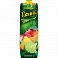 Нектар «Сочный фрукт» мультивитамин, обогащенный витаминами, 1 л
