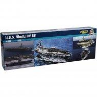 Сборная модель «Italeri» Авианосец U.S.S. Nimitz CVN-68, 503