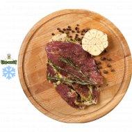 Полуфабрикат «Стейк из свинины в маринаде с травами» замороженный400 г.