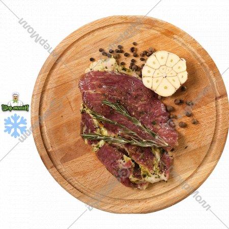 Полуфабрикат «Стейк из свинины в маринаде с травами» 400 г.