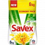 Средство моющее порошкообразное «Savex» 2 в 1 Fresh automat, 6 кг.