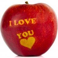 Яблоко «РедПринц» I love you, 1 кг, фасовка 0.15-0.2 кг