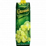 Нектар «Сочный фрукт» яблочно-виноградный, 1 л.
