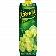Нектар «Сочный фрукт» яблоко-белый виноград, 1 л