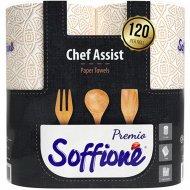 Полотенца «Soffione Premio Chef Assist» из целлюлозы 3 слоя, 2 рулона