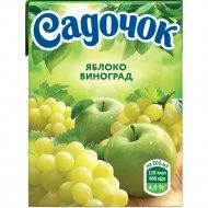 Нектар «Садочок» яблочно-виноградный 0.2 л.