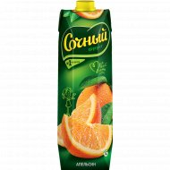 Нектар «Сочный фрукт» апельсиновый 1 л.
