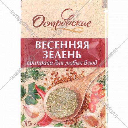 Приправа «Островские» для любых блюд, 15 г